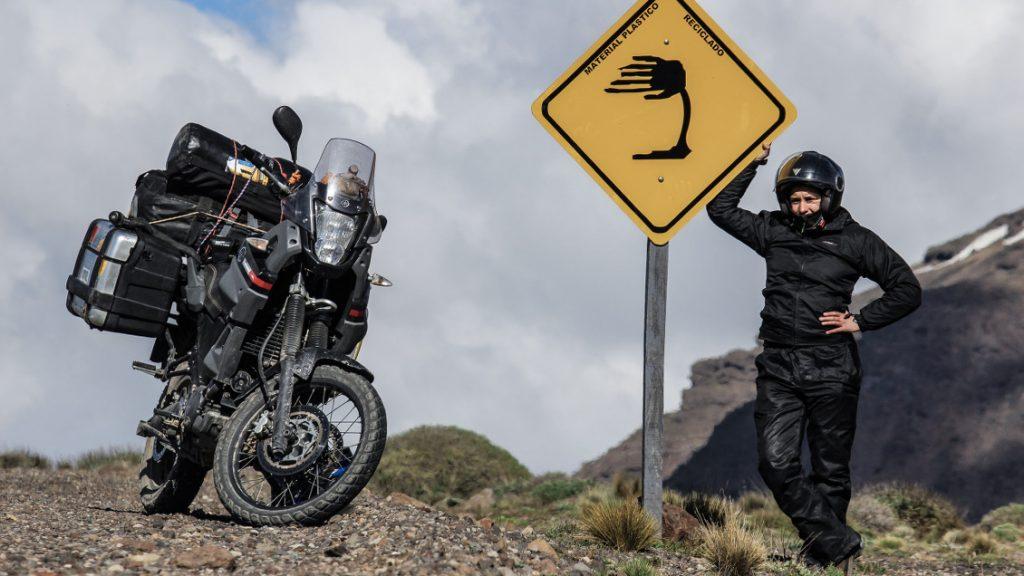 Viento, frío y altura, tres de los grandes desafíos viajando en moto... y alguno más